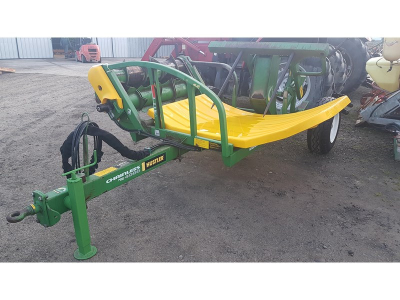 hustler chainless 4000 bale feeder 603399 003