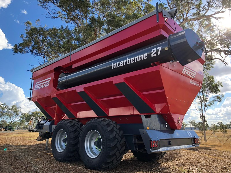 2018 PERARD INTERBENNE 27 MULTI USE GRAIN, SEED & FERTILISER