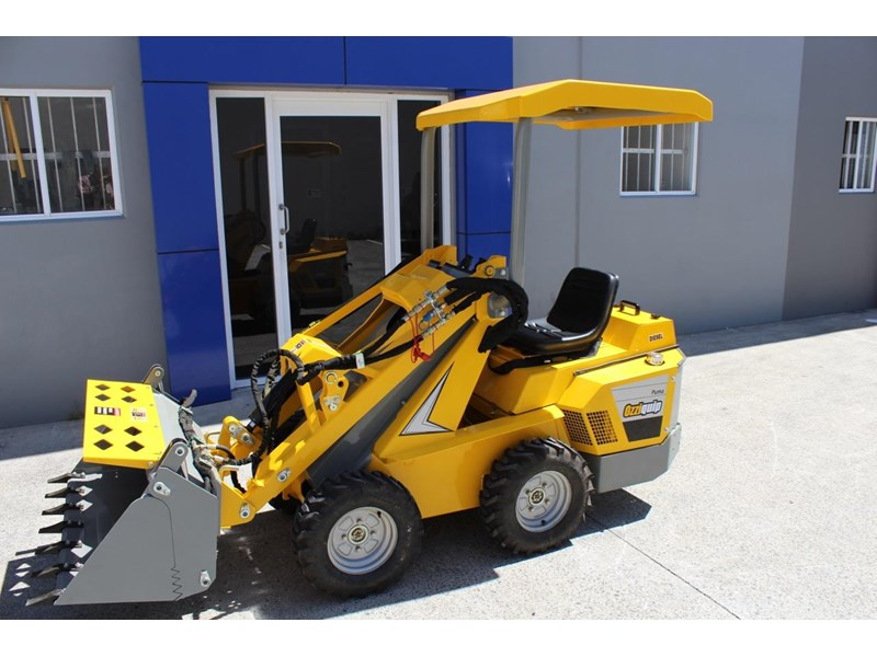 ozziquip puma 21hp diesel water cooled 4 in 1 bucket italian casappa hydraulic pumps 607195 003
