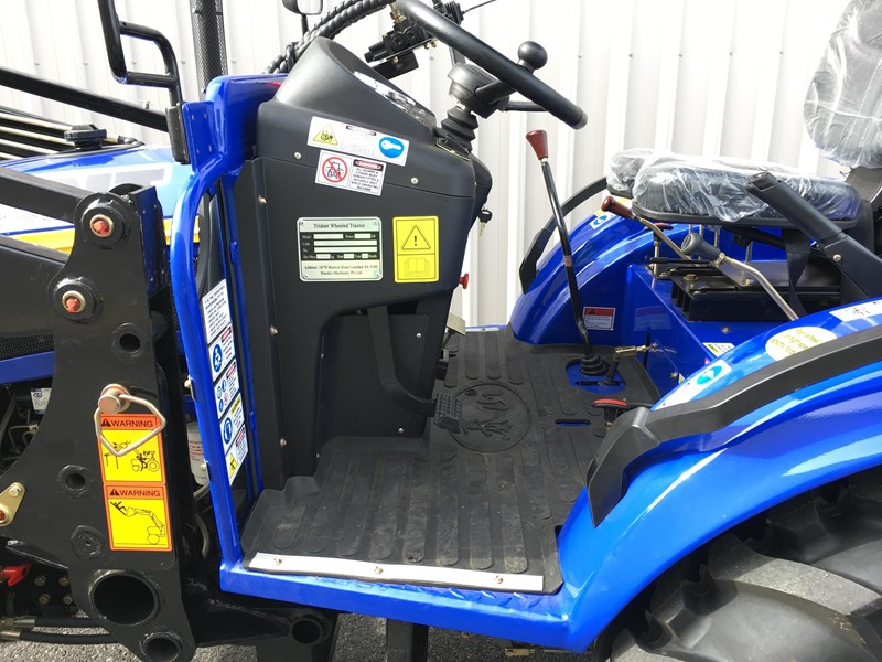 trident brand new 40hp tractor 4wd+fel+slasher shuttle shift 512366 012