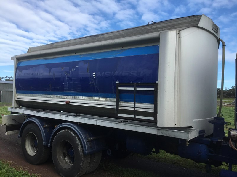 hockney 18600 litre rigid aluminium fuel tank 607793 003