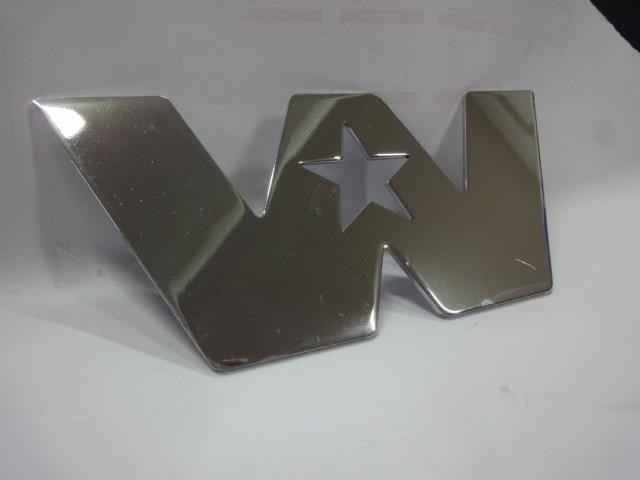 western star chrome star decal 610851 002