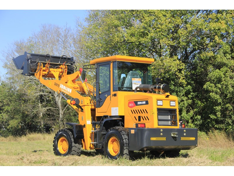 joblion equipments 2019 new joblion sm75 75hp 5.2ton free gp bucket+bucket 4 in 1+forks 546461 004