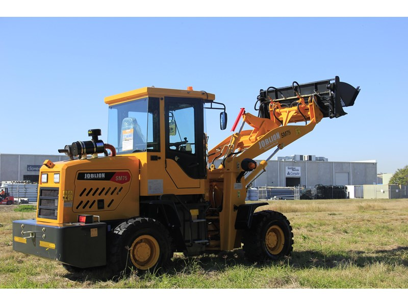 joblion equipments 2019 new joblion sm75 75hp 5.2ton free gp bucket+bucket 4 in 1+forks 546461 006