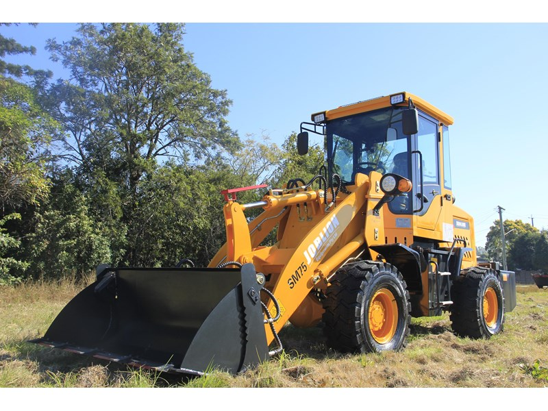 joblion equipments 2019 new joblion sm75 75hp 5.2ton free gp bucket+bucket 4 in 1+forks 546461 007
