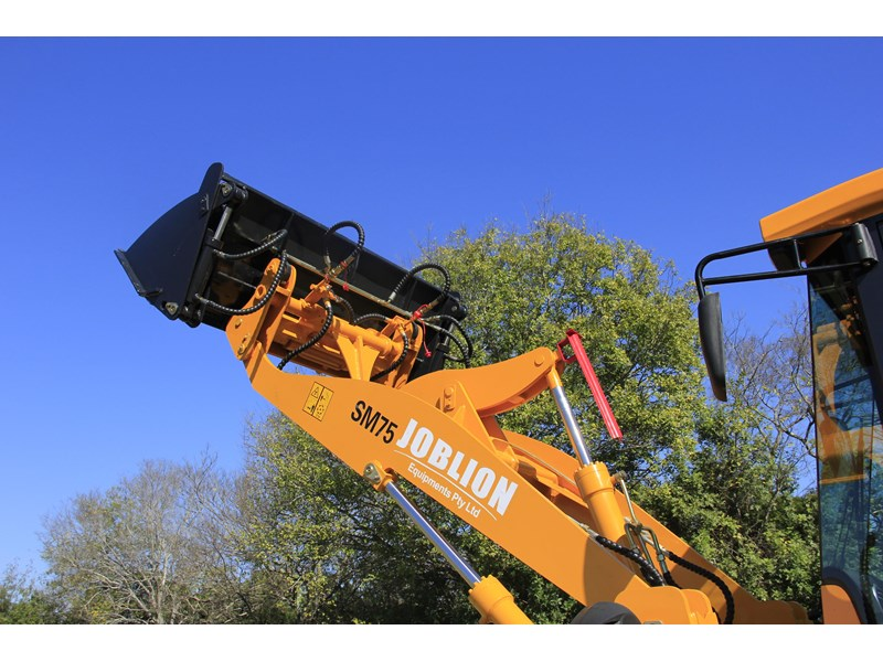 joblion equipments 2019 new joblion sm75 75hp 5.2ton free gp bucket+bucket 4 in 1+forks 546461 009