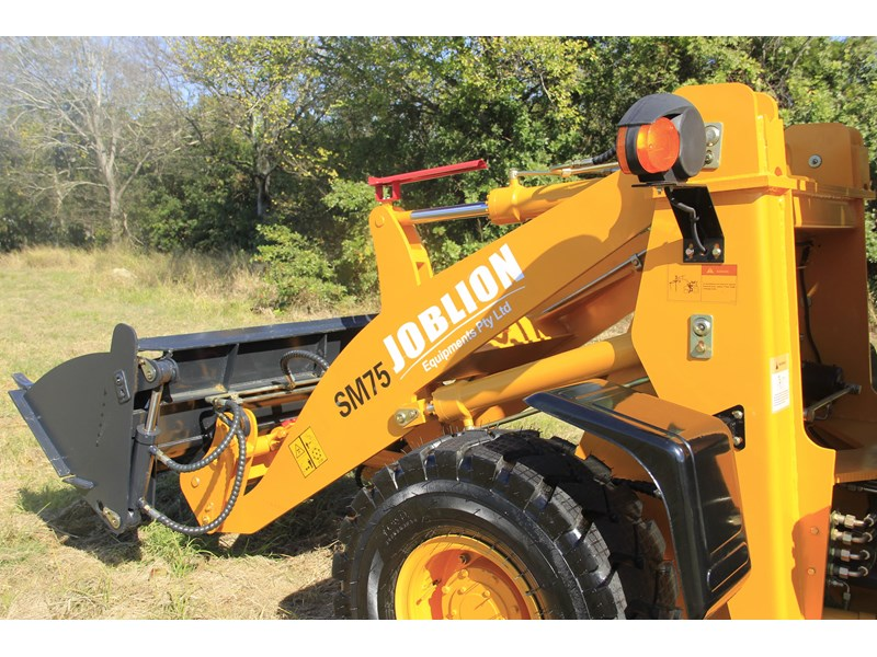 joblion equipments 2019 new joblion sm75 75hp 5.2ton free gp bucket+bucket 4 in 1+forks 546461 010