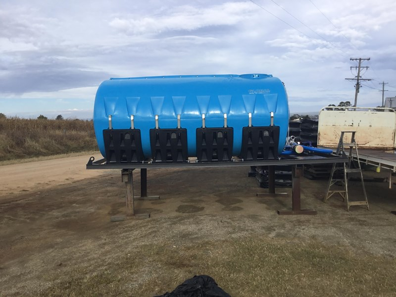 13,000l cartage tank with frame and pump heavy duty 1.3sg 609197 005