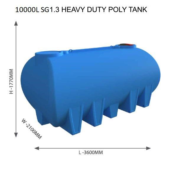 national water carts 15000l poly water cartage tank 626548 002