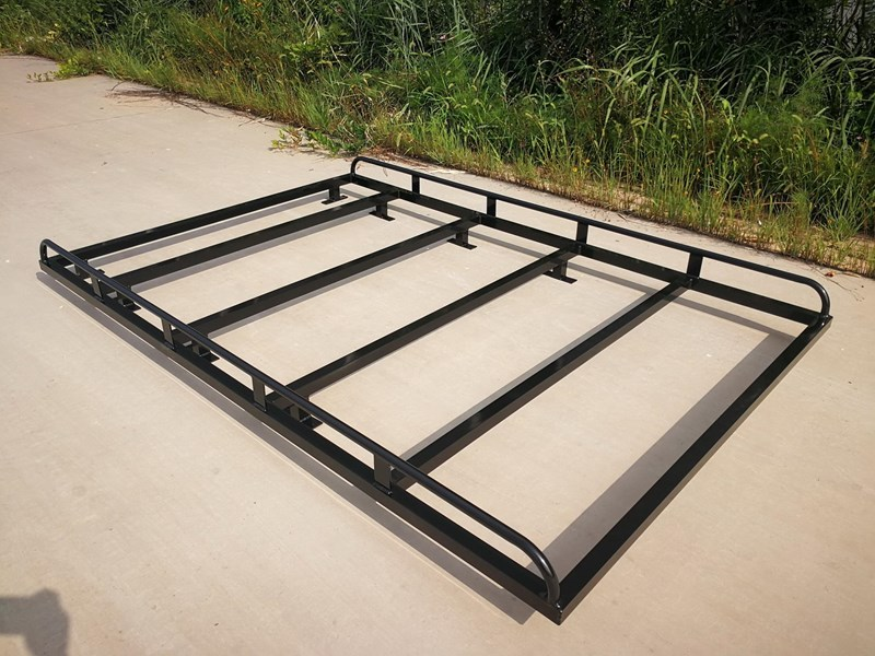 KYLIN CAMPERS BLACK OVERHANG FULL SIZE CAB RACK 2400X1600MM (LXW ...