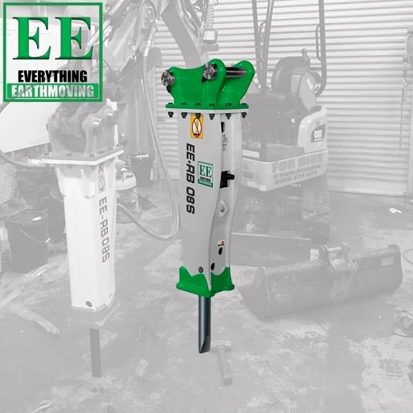 everything earthmoving ee-rb08s hydraulic rock breaker 627887 002