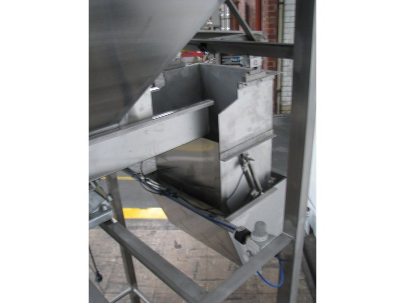 stainless steel semi-automatic hopper weigher bagger 628697 007