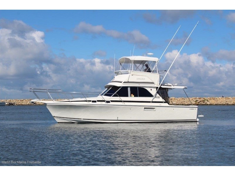 caribbean 35 flybridge cruiser 633415 002