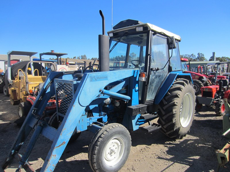 ford 4630 tractor with front end loader 609724 002