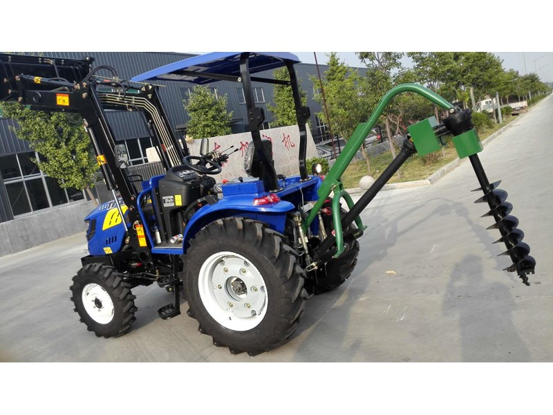 trident brand new 40hp tractor 4wd+fel+slasher shuttle shift 512366 078