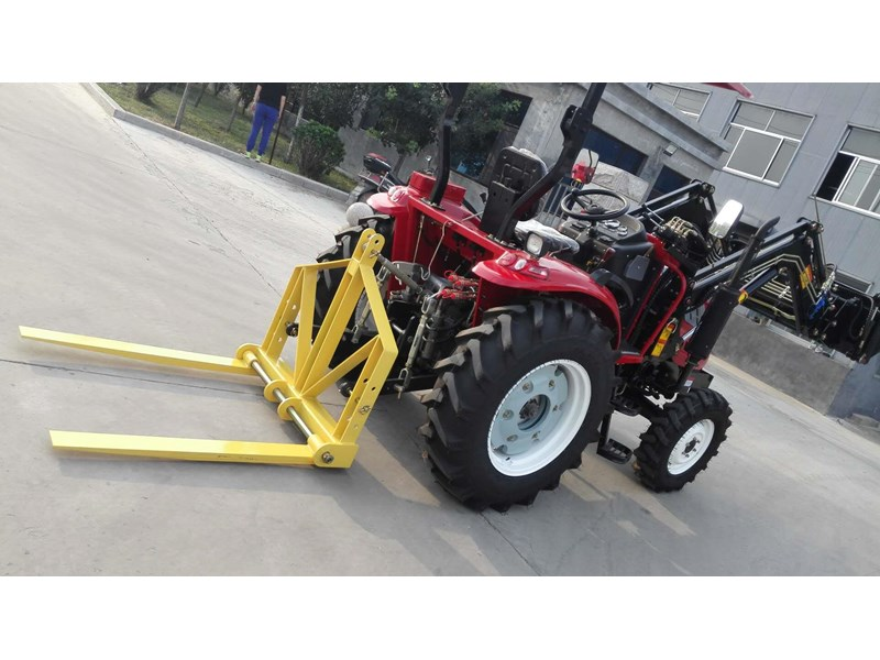 trident brand new 40hp tractor 4wd+fel+slasher shuttle shift 512366 080