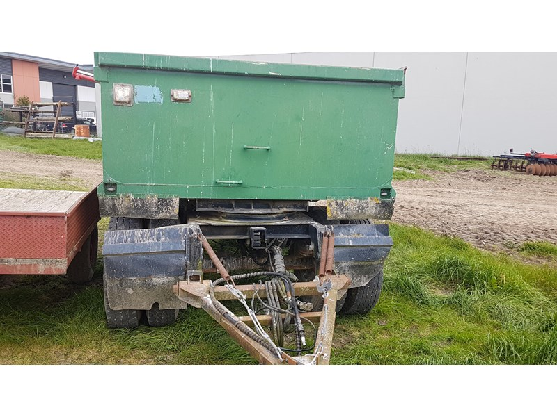 unknown hydraulic tipping truck type trailer 638343 002