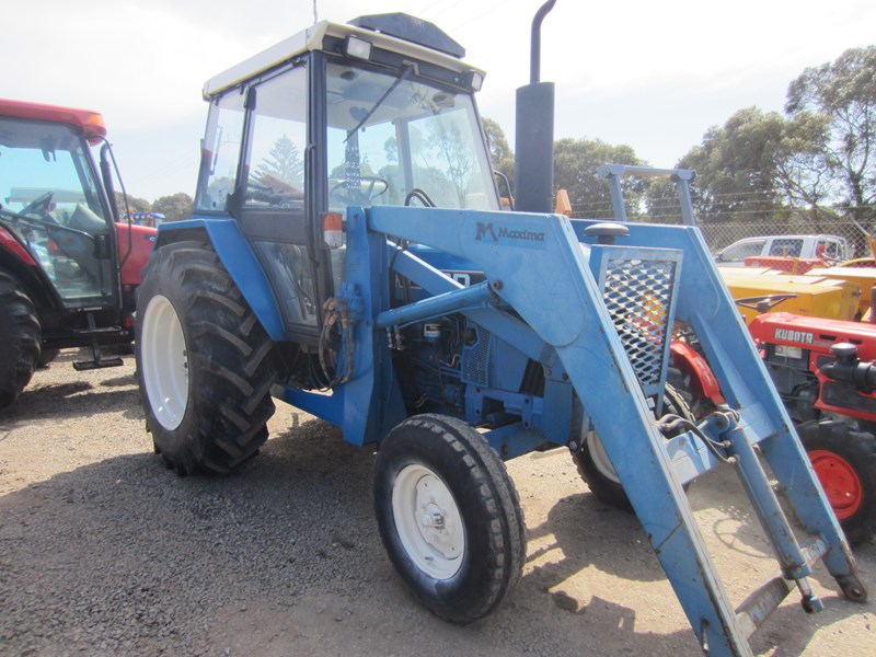 ford 4630 tractor with front end loader 609724 001