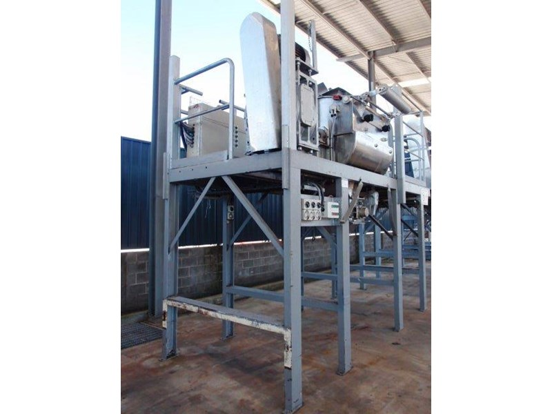 ribbon blender capacity: 750lt 639931 002