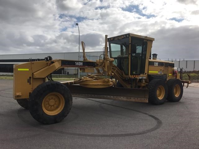 caterpillar 140h series ii (also available for hire) 459135 004