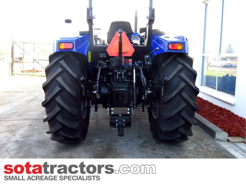 farmtrac 87hp tractor + 4 in 1 loader + backhoe 646189 004