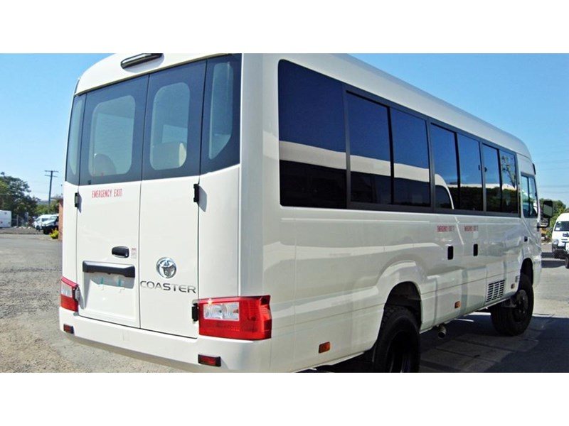 toyota bus 4x4 conversion of 70 series toyota coaster - mine specification 650919 004