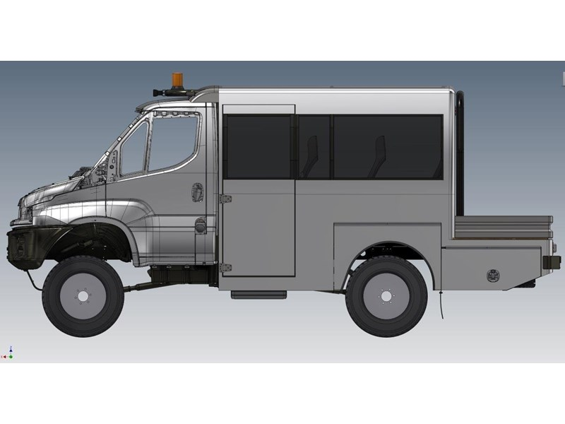 iveco daily 4x4 ute bus 650967 001