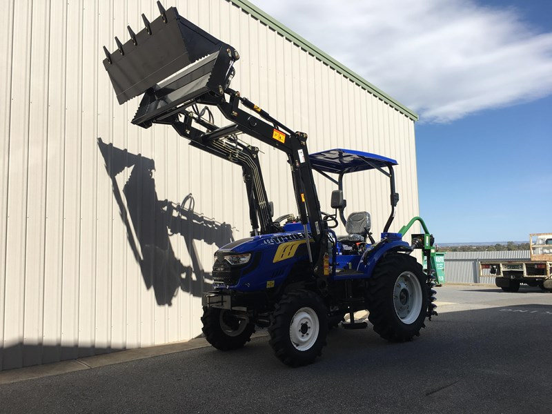 trident brand new 40hp tractor 4wd+fel+slasher shuttle shift 512366 040