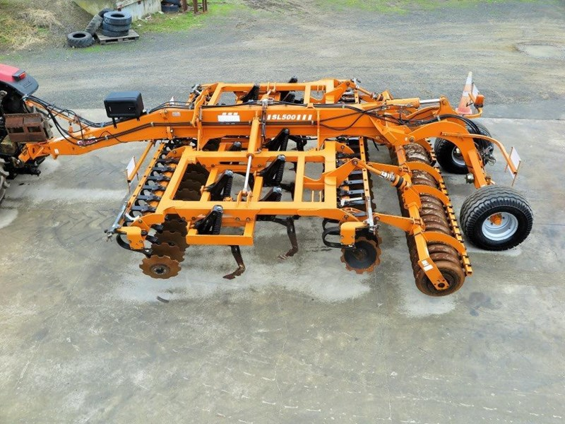 simba sl 500 disc/tyne/disc combination cultivator 651159 001