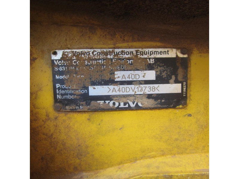volvo a40d 652780 012