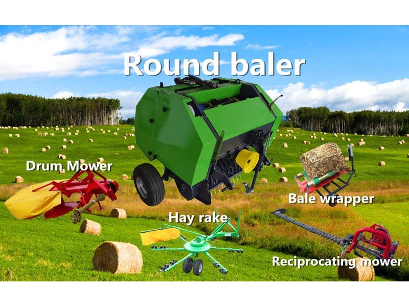 2018 Trident Mini Round Baler Nic1070 For Sale