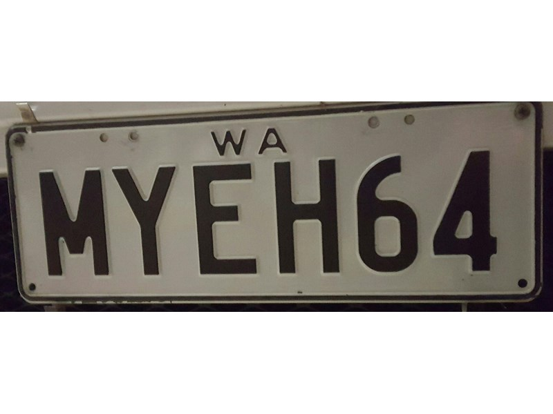 Number Plates Holden Eh 656779 001
