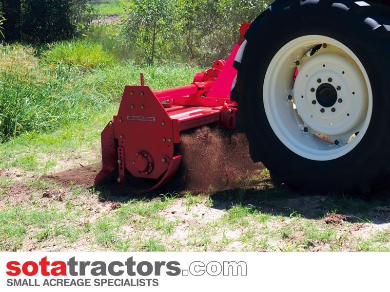 agmax rh178 commercial rotary hoe 1.78m 656929 007