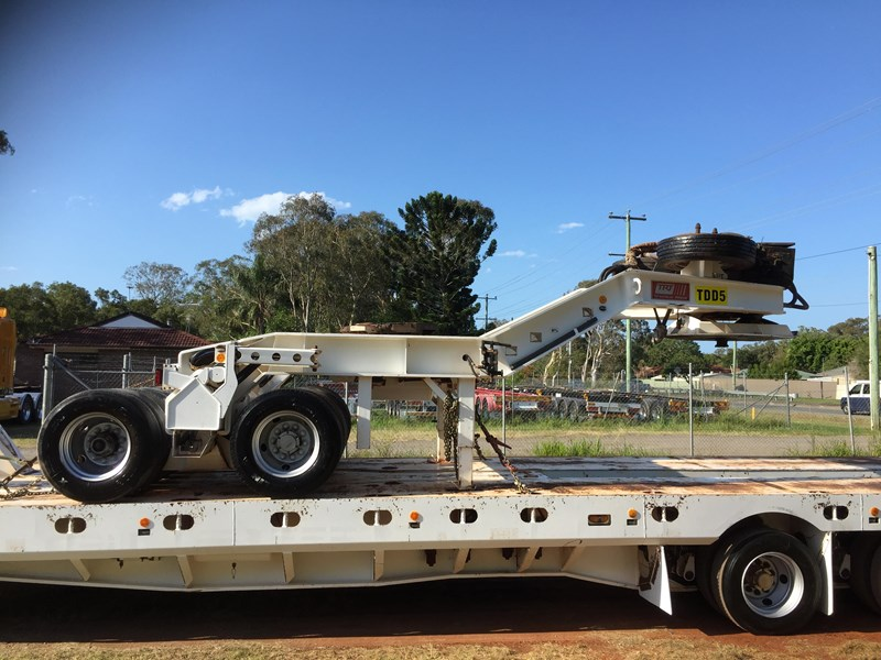 trt 4×8 widening low loader & 2×8 dolly 659908 008