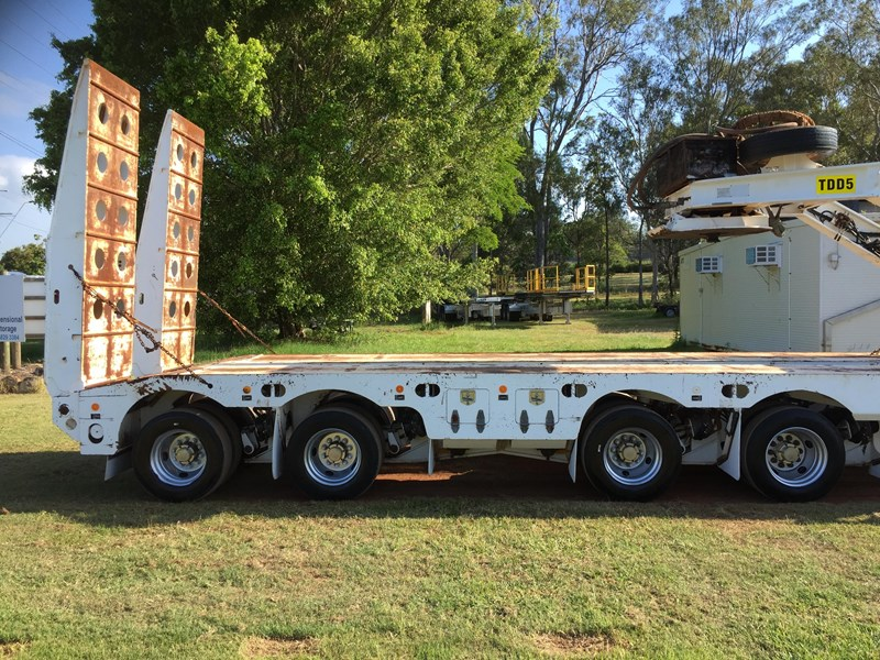 trt 4×8 widening low loader & 2×8 dolly 659908 011