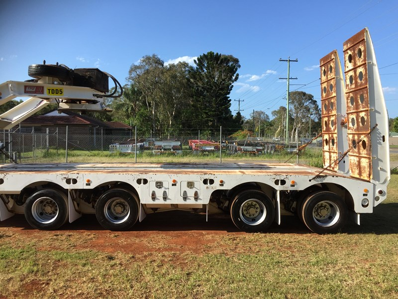 trt 4×8 widening low loader & 2×8 dolly 659908 012