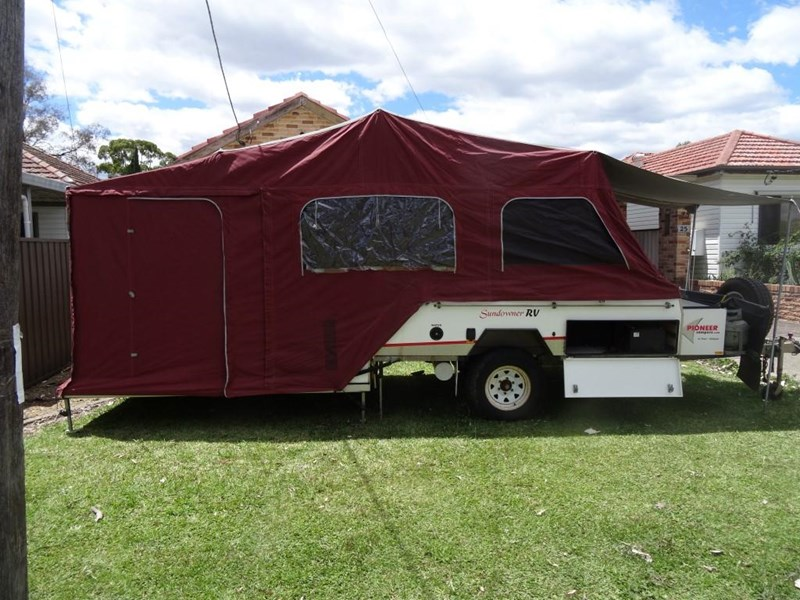 pioneer camper trailers sundowner rv off-road hard floor 663792 002