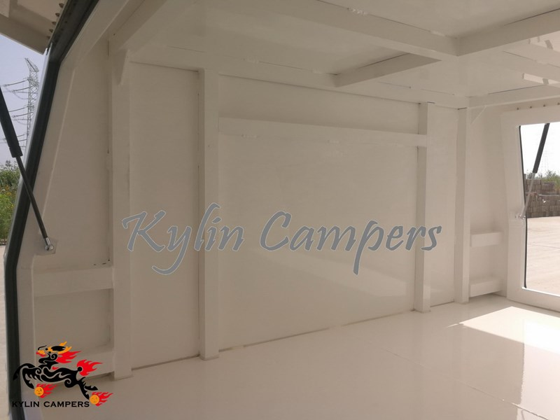 kylin campers dual cab jack off white powder coated alloy canopy, aluminium canopy, ute canopy  no back door - 1800x1800x860mm 511361 009