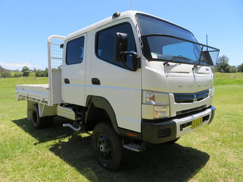 2012 FUSO CANTER FG 4X4 CREW CAB for sale