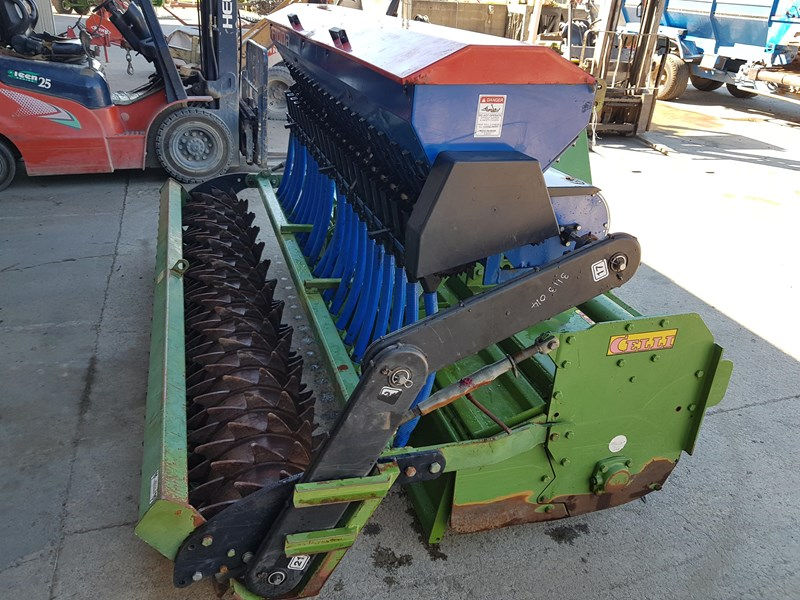 celli pioneer 140/255 spike rotor & seedbox 665760 004