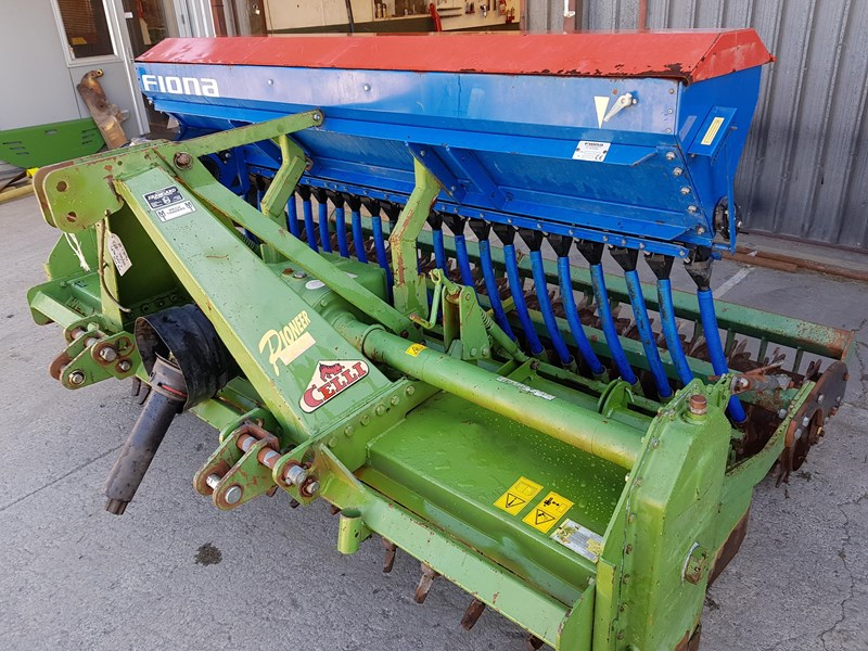 celli pioneer 140/255 spike rotor & seedbox 665760 002