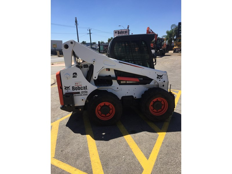 bobcat a770 (all wheel) - low hours 654904 007