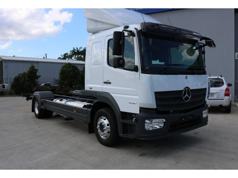 Bardzo dobra 2017 MERCEDES-BENZ ATEGO for sale TX92