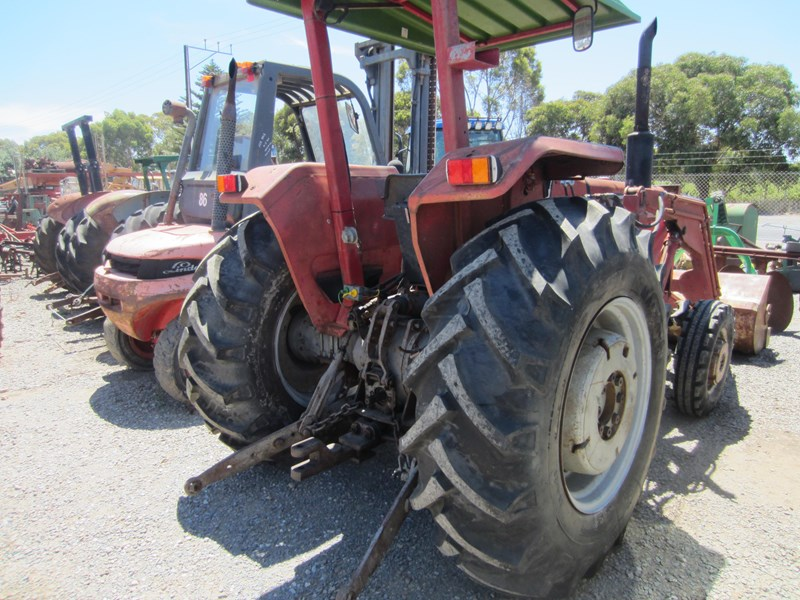 massey ferguson 265 tractor with front end loader 652290 002
