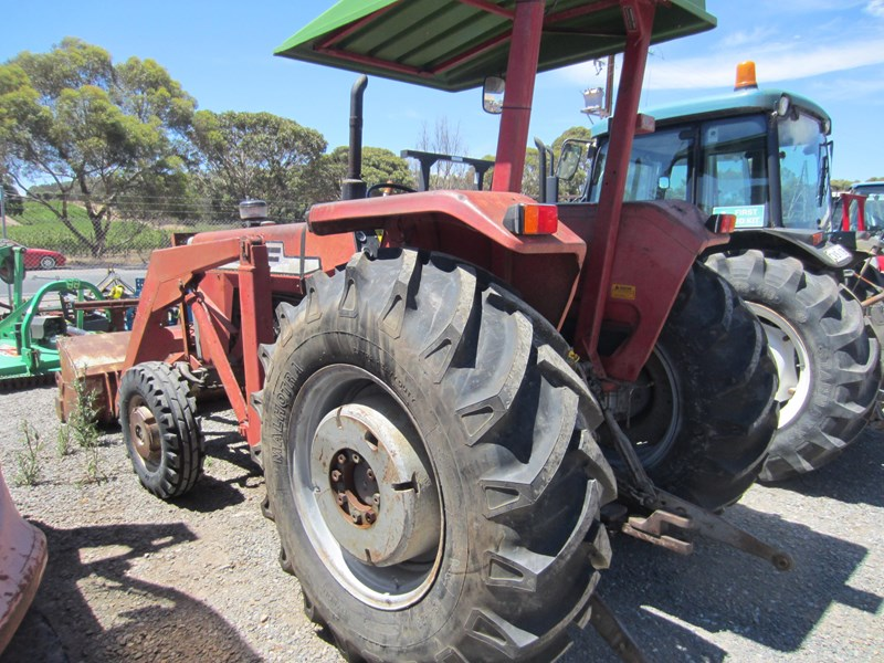 massey ferguson 265 tractor with front end loader 652290 010