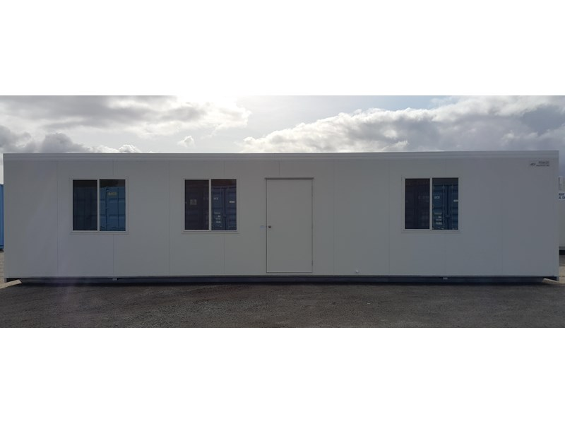 mcgregor 12.0m x 3.0m eco site office & lunchroom 670560 001