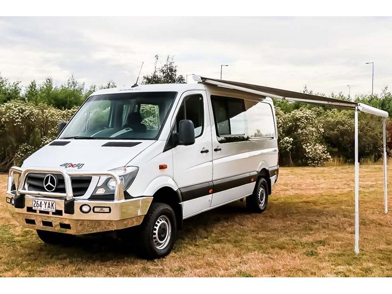 2018 mercedes-benz sprinter 316 cdi mwb 4x4 campervan for sale