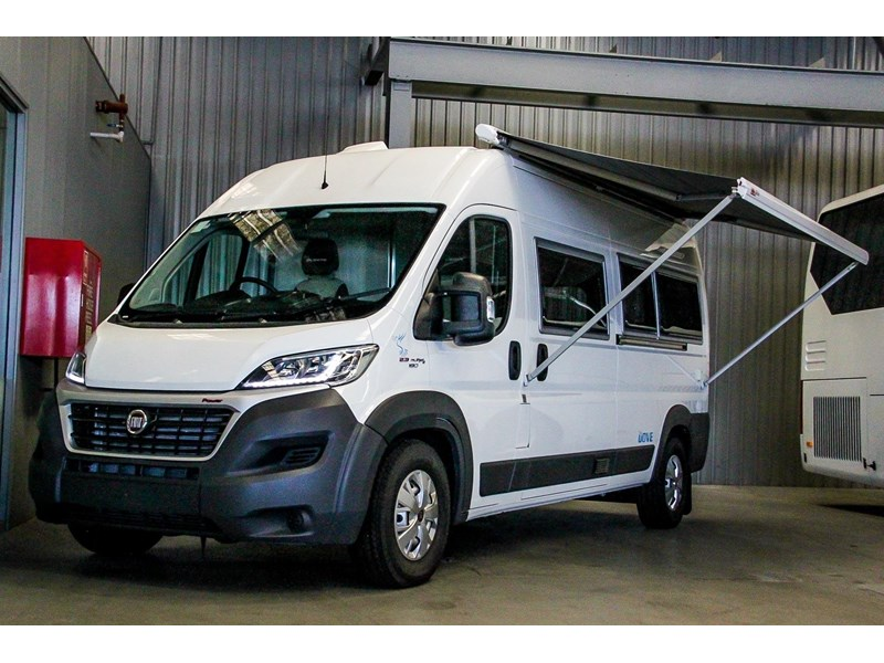 2017 Fiat Ducato Factory Camper Specification For Sale