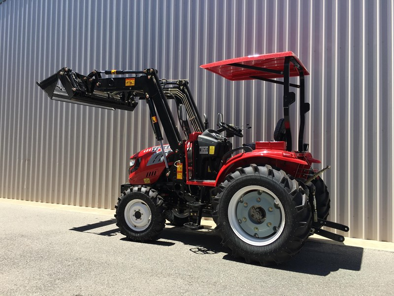 trident brand new 40hp tractor 4wd+fel+slasher shuttle shift 512366 084
