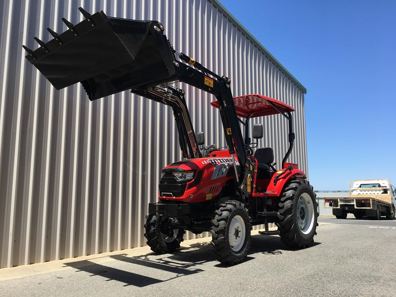 trident brand new 40hp tractor 4wd+fel+slasher shuttle shift 512366 036